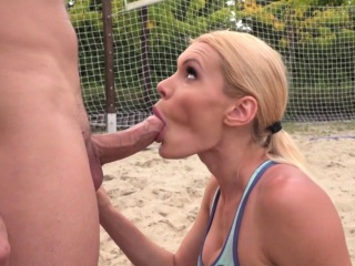 Butt plowed slut cum dump