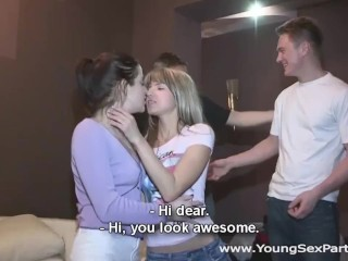 Young Sex Parties - Gina Gerson - Lizaveta K - Sharing girlfriends is fun
