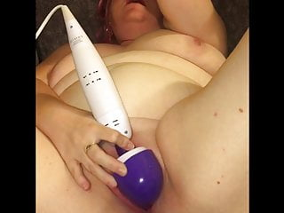 British BBW Amateur Mrs T Solo Play and Fucked