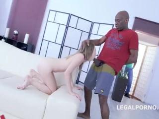 Legan Porno - Monsters of DAP ( Angel Smalls 5 on 1 Deep DAP