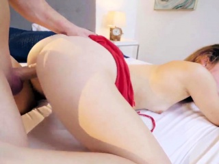 Euro rough anal threesome and boob punishment first time Twi
