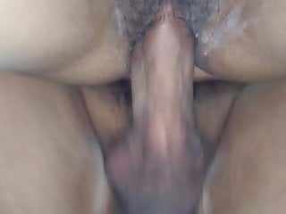 Wet hairy and tight Latina pussy fuck 2