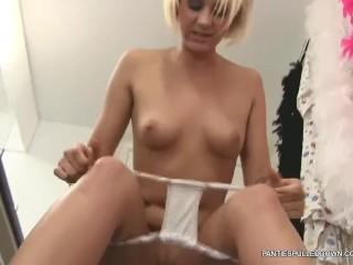 Dirty talking horny Brit Jessica Lloyd