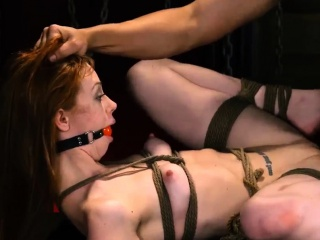 Bdsm anal pumped pussy and bondage feet humiliation Sexy you