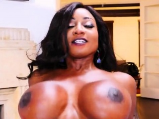 Big tits milf interracial and facial