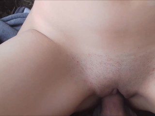 Nice Public Sex - Huge Cumshot