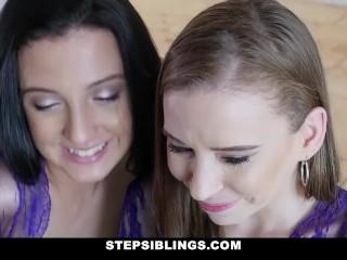 StepSiblings - Teen BFFs Bone Lucky Guy