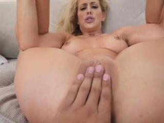 Milf dildo masturbation hd and hard doggy Cherie Deville cau