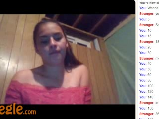 Omegle Hot Teen Does Everything