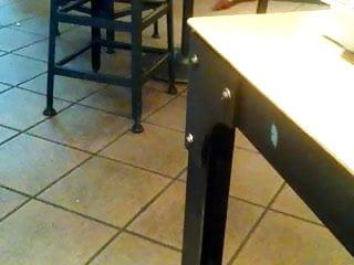 Candid Starbucks Feet and Legs 2 women Shoeplay 3 mins in