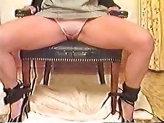 Bound mother pee herself