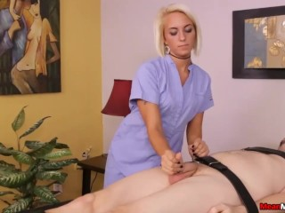 Blake Carter The Feisty Femdom Babes Massage Session
