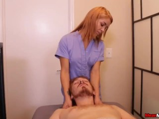 Massage Lady Ruins This Guys Massage And Happy Ending