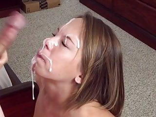 Three Massive Facials with Slow Mo Replay