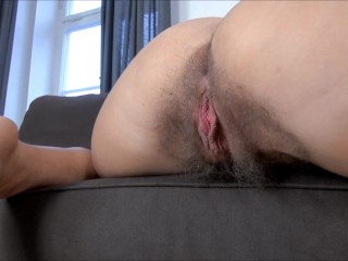 Hairy Asshole - Megan Promisita