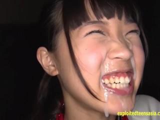 Metabo Naoji Gets Massive Bukkake And Pisses In Between Loads Of Guys Jizzi