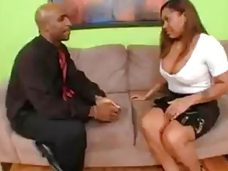 Janet Jacme's Creamy Pussy Can't Take It!