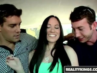 Reality Kings - Onia Nevaeh needs two cocks to keep her happy