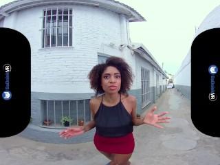 BaDoinkVR.com Ebony Estate Agent Luna Corazon Showing You Her Properties
