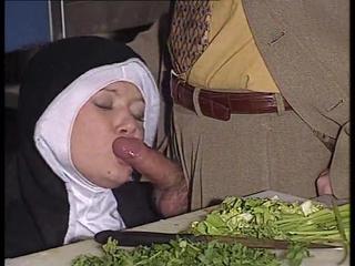 Assfucked nun