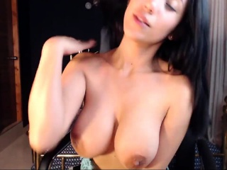 Big boobs exgirlfriend striptease