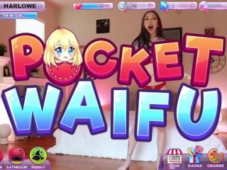 Nutaku Pocket Waifu HarloweBlue Breaks The Matrix