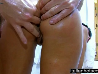 ItalianHotScout - beautiful milf brunette smashed in the ass